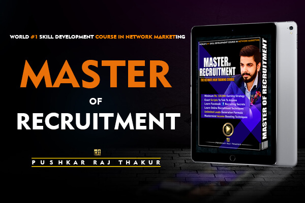 In Master of Recruitment course, your mentor is Pushkar Raj Thakur!